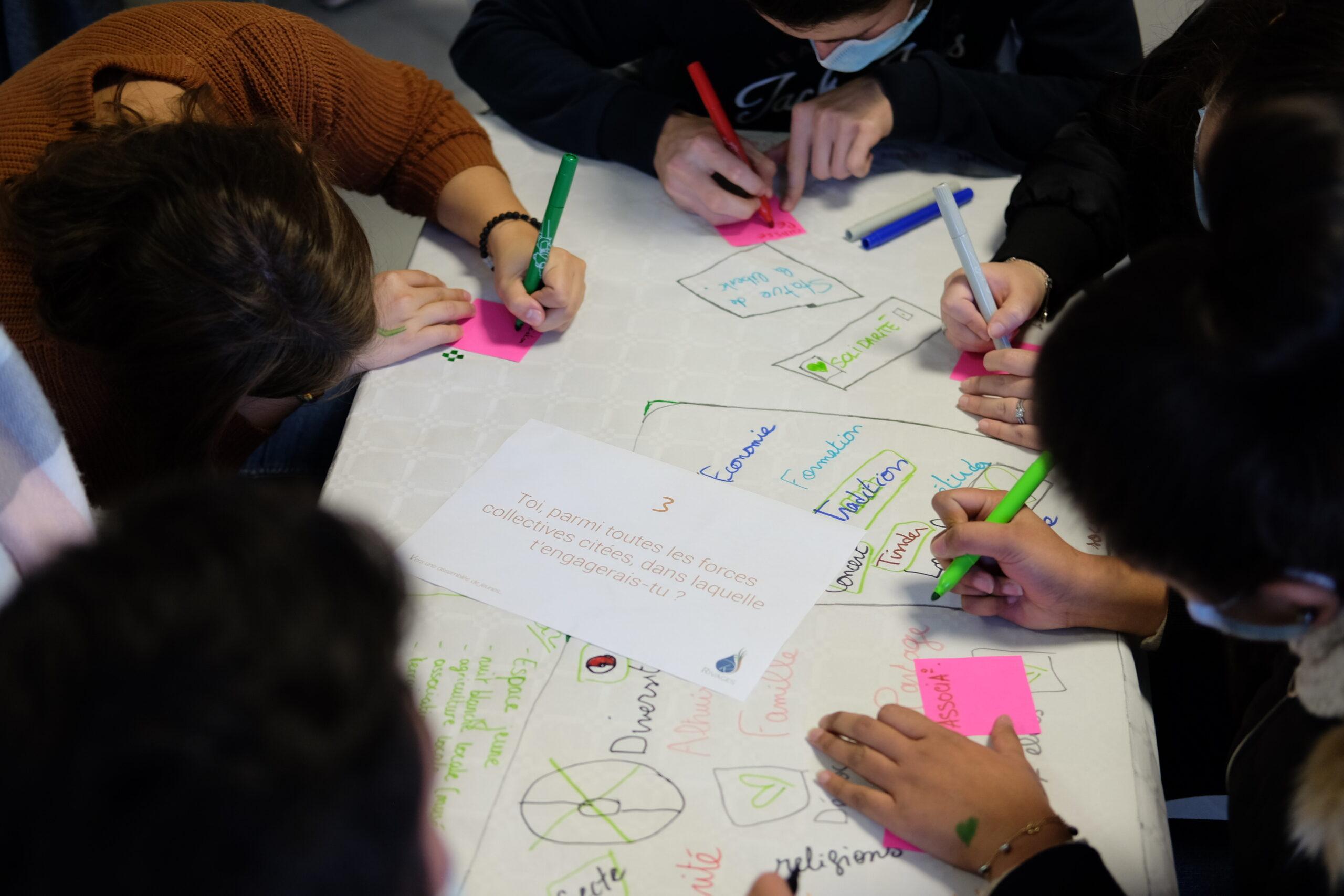 2020-12 Atelier Citoyenneté au Lycée agricole Jean Monnet de Vic-en-Bigorre