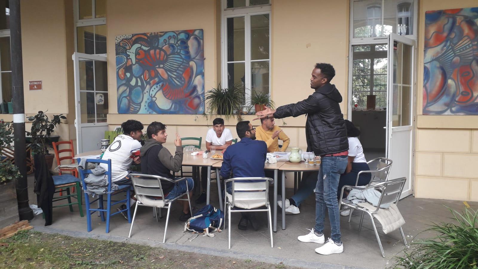 2021-09 Préparation du deuxième événement Le temps de vivre avec les jeunes
